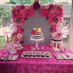 Trendy birthday party ideas 56 Ideas ideas for birthday Shower Party, Baby Shower Parties, Bridal Shower, Shower Cake, Party Party, Barbie Birthday, 40th Birthday Parties, Cake Birthday, Birthday Ideas