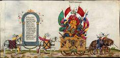 Artist: various, Title: »Triumphzug Kaiser Maximilians« Page 35, Date: 1526