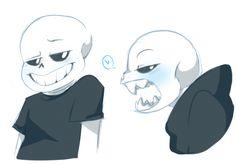 Sans looks p cool in blackbut I like teeth more(୨୧ ❛ᴗ❛)✧