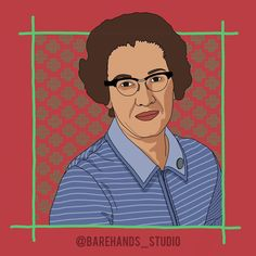 """KATHERINE JOHNSON  Powerful Women Series No.5  Katherine Johnson was an American mathematician whose calculations of orbital mechanics as a NASA employee were critical to the success of the first and subsequent U.S. crewed spaceflights.  Watch the movie """"Hidden Figures"""", it is based on her and two other amazing women. They had to fight through racial injustice & gender imbalance, just to be heard. It's an inspiring tale that needs to be told.  #KatherineJohnson #NASA #mathematician #genius… Katherine Johnson, Hidden Figures, Powerful Women, Girl Power, Nasa, Amazing Women, Gender, Success, Draw"""
