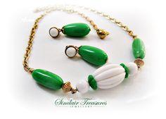 Vintage Avon Necklace & Earrings  http://www.etsy.com/people/peggysinclair2?ref=si_pr