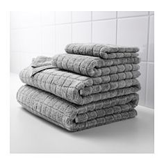 IKEA - ÅFJÄRDEN, Hand towel, The long, fine fibers of combed cotton create a soft and durable bath mat.A terry towel that is extra thick and soft and highly absorbent (weight 590 g/m²).