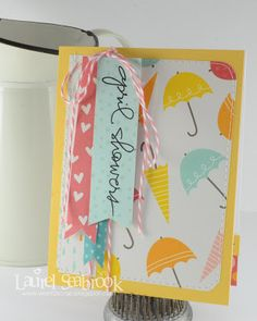 Seabrook Designs: Showers and Flowers