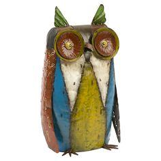 Oscar Owl Sculpture » Cute for the garden!