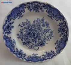 H 893 PIATTO STILE INGLESE IN CERAMICA FONTEBASSO FLOREA L BLUE DIAM 20 - http://www.okaffarefattofrascati.com/?product=h-893-piatto-stile-inglese-in-ceramica-fontebasso-florea-l-blue-diam-20