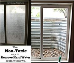 The Non-Toxic Way to Remove Hard Water From Windows