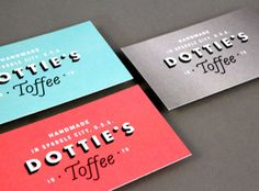 A Showcase of Beautifully Designed Business Cards...2020signshop.com can do this!  #design #graphicdesign #printing
