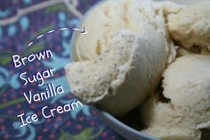 Brown Sugar Vanilla Ice Cream Recipe-I will use coconut sugar (it is what I have right now) and 3 cups of half and half.  Going to use it to top an apple pie