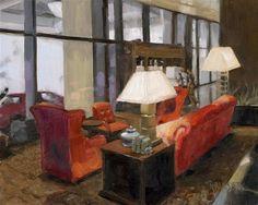 """""""Such A Lovely Place"""" - Original Fine Art for Sale - © Nancy Parsons"""