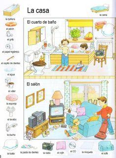 La casa - vocabulario