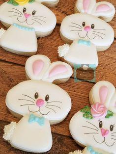 Easter bunny sugar cookies Keri's Kreations