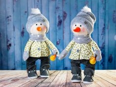 Best price! Snowman. Textile toy. Snowman tilda. Soft toy. Cute toy. Tilda toy. Winter toy. Rag toy. Сloth toy. Interior doll. Christmas toy by OwlsUa on Etsy