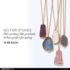 Avon, Pendants, Pendant Necklace, Campaign, Jewelry, Canada, Jewlery, Jewerly, Hang Tags
