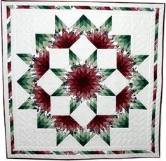 Broken Lone Star Pieced Pattern Quilt - Antiques, Art and Lone Star Quilt Pattern, Amish Quilt Patterns, Star Quilt Blocks, Amish Quilts, Star Quilts, Scrappy Quilts, Geometric Coloring Pages, Half Square Triangle Quilts, Medallion Quilt