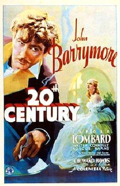 Directed by Howard Hawks.  With John Barrymore, Carole Lombard, Walter Connolly, Roscoe Karns. A flamboyant Broadway impresario who has fallen on hard times tries to get his former lover, now a Hollywood diva, to return and resurrect his failing career.