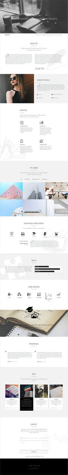 Conceito - Creative One Page Parallax HTML Template Creative - Resume Now Customer Service