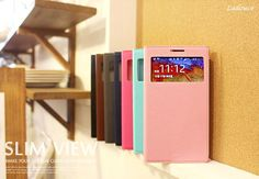 Ladouce Slim View Clear View Window Case is a very functional case for your Galaxy Note 3 Neo. Light weight and featuring a slim design, this trendy and exquisite accessory helps to improve your phone's style and protection.