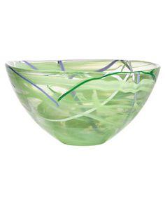 Kosta Boda 'Contrast' Medium Crystal Bowl available at Nordstrom Glass Vessel, Glass Art, Contrast Lighting, Kosta Boda, Kitchen Collection, All Modern, Serving Bowls, Decorative Bowls, Pottery