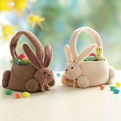 ♥ ~ ♥ Spring into Easter ♥ ~ ♥ Felt Bunny, Easter Bunny, Easter Eggs, Easter Projects, Easter Crafts, Projects To Try, Easter Parade, Ideas Para Fiestas, Paper Basket