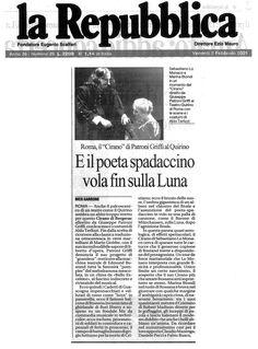 2 febbraio 2001 - La Repubblica - Nico Garrone su Cirano di Bergerac di Rostand, regia di Peppino Patroni Griffi con Sebastiano Lo Monaco, Marina Biondi