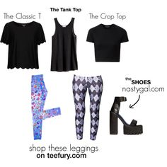 Shop the look from the legging photo shoot!