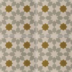 Carreaux de ciment - Les motifs - Carreau NC1 27.07.22 - Couleurs & Matières