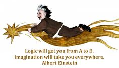Have the right combination of logic and imagination...