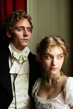 """Tom Hiddleston as Mr. John Plumptre and Imogen Poots as Fanny Knight in Miss Austen Regrets. I just watched this. Jane fans should see it. """"The only way to find a Mr."""" -Jane Austen in Miss Austen Regrets Jane Austen, Period Movies, Period Dramas, Ben Barnes, Thomas William Hiddleston, Tom Hiddleston, Orlando Bloom, Keanu Reeves, Imogen Poots"""