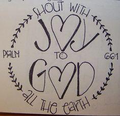 Psalm 66:1 Heart Du Jour