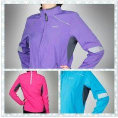 New Reflective Run Jacket colours!    Love the purple!