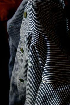 Hickory Stripe Chore Coat