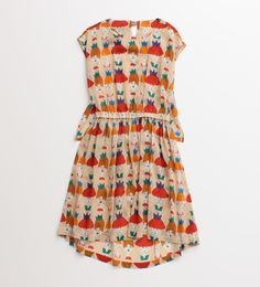 Fantastic print on this dress by I am I クイーンシスターズワンピース