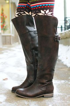 Stand Tall Riding Boot - Brown $44.99