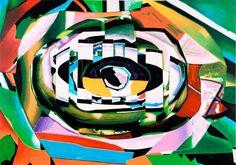 """Luis Gordillo """"Globuloso Chicloide Selvático"""" (XXL/XXI - 2010). Imagen cortesía de Artium."""
