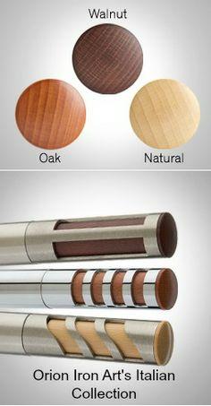 Window Hardware, Drapery Hardware, Iron Art, Windows, Inspired, Wood, Metal, Collection, Woodwind Instrument