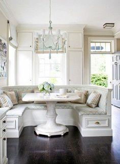 Kitchen Nook | Dream Home t | Nooks, Kitchen Nook and Breakfast Nooks