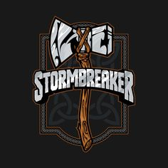 Check out this awesome 'Stormbreaker' design on @TeePublic!