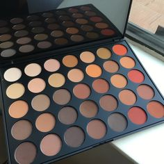 Morphe palette 35OM Limited edition ! Limited edition!All matte SUPER pigmented Morphe Brushes Makeup Eyeshadow