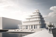 JAJA Architects has been announced as the winners of an open international competition to design a new parish church in the Sydhavnen (South Harbor)...