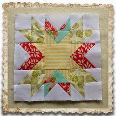 Threadbare Creations: Chatelaine- Free BOW Sampler Quilt Block 22