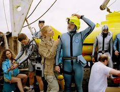 The Life Aquatic with Steve Zissou, Wes Anderson, 2004 Owen Wilson, Bill Murray, Cate Blanchett, Mark Mothersbaugh, Wes Anderson Movies, Grande Hotel, The Royal Tenenbaums, Life Aquatic, Movie Characters