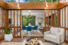 Now Listed: $4.8M Medina home designed by Museum of Flight architect | Seattle Refined Plant Rooms, Room With Plants, Architect Design, Seattle, Museum, House Design, Furniture, Home Decor, Decoration Home