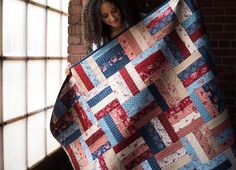 Split Rail Liberty Song Expand-A-Quilt Kit by Kate Colleran   Craftsy