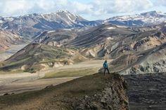 Hike from Landmannalaugar over the Sudurnamur (8,5 km).