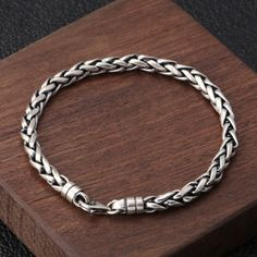Mens Silver Jewelry, Sterling Silver Jewelry, 925 Silver, Copper Jewelry, Hammered Silver, Bracelets For Men, Silver Bracelets, Silver Earrings, Jewelry Bracelets