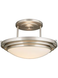 Buy the Quoizel Brushed Chrome Direct. Shop for the Quoizel Brushed Chrome Electra 1 Light Wide Halogen Semi-Flush Ceiling Fixture with Etched Glass and save. Chrome, Ceiling Fixtures, Chrome Finish, Light, Glass, One Light, Lighting, Lights, Ceiling Lights