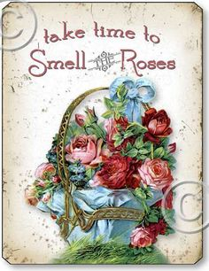 Item 05001 Victorian Vintage Pink Roses Plaque
