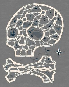 Map to Ghost Town