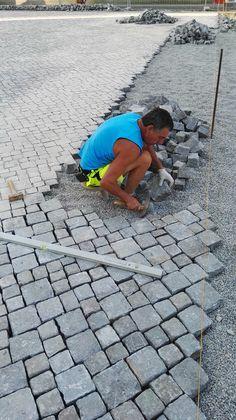 neues granitpflaster schlesischer granit grau 7 9er 27 m pflasterstein in in ellrich ebay. Black Bedroom Furniture Sets. Home Design Ideas