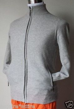 #men sweater for sale Paolo Mondo men size S full zip 2-Ply cashmere sweater withing our EBAY store at  http://stores.ebay.com/esquirestore